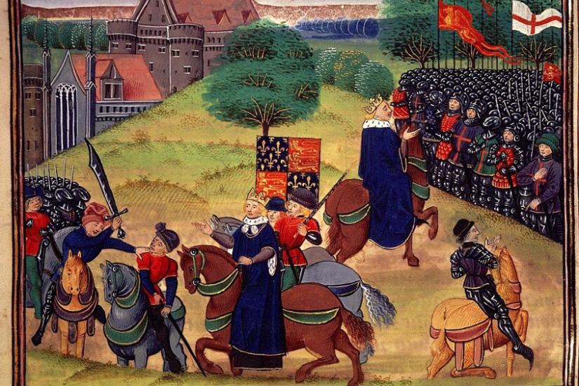 O século XIV, em livros, naInglaterra