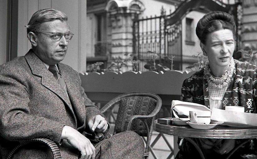 Entre Sartre e Simone deBeauvoir