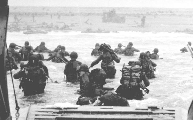 Dia D: quando a praia não foi lugar paraférias